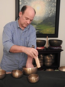 Bill Rimming a Bowl